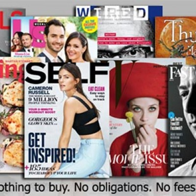 Magazine Subscription Of Your Choice At No Cost