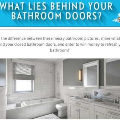 Scrubbing Bubbles: Win $1,000 to Refresh Your Bathroom