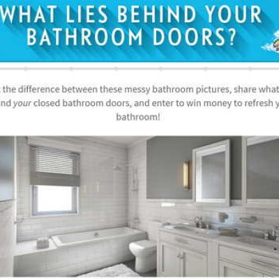Scrubbing Bubbles: Win $1,000 to Refresh Your Bathroom