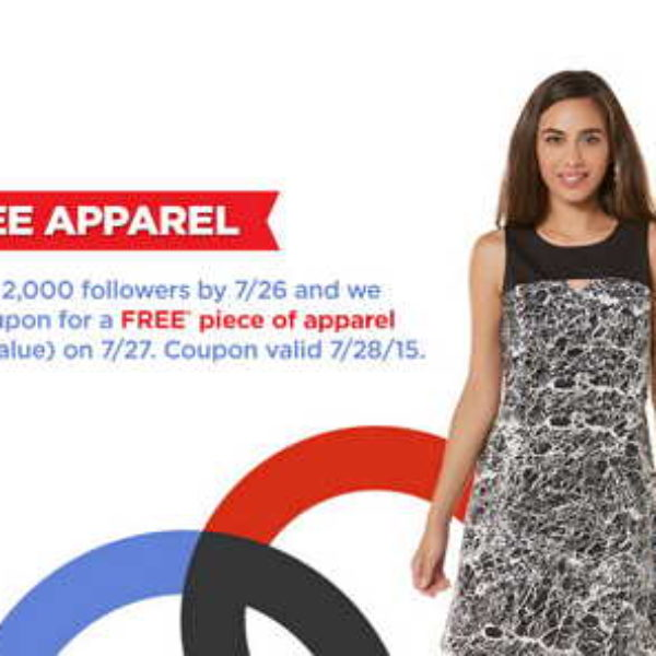 Sears Outlet: Free Piece of Apparel