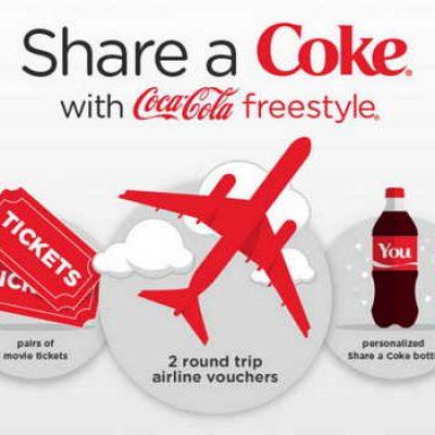Share A Coke Freestyle Sweepstakes