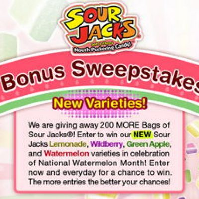 Win New Varieties of Sour Jacks