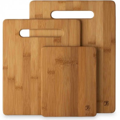 Totally Bamboo 3 Piece Bamboo Cutting Board Set Only $10.99