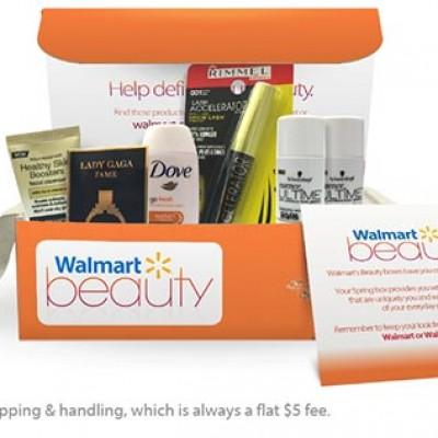 Walmart: $5 Beauty Box