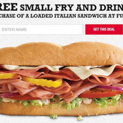 Arby's: Free Small Fry & Drink W/ Purchase