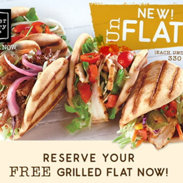 Corner Bakery: Free Grilled Flat