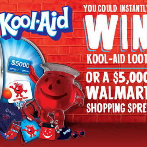 Kool-Aid: Win a $5K Walmart Shopping Spree