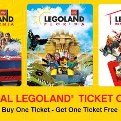 BOGO Legoland Tickets