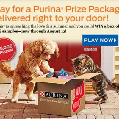 Win a Purina Prize Package