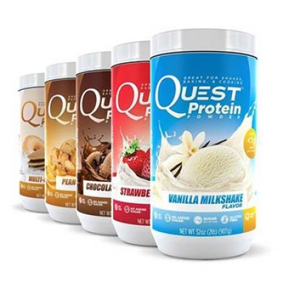 Quest: Two Free Protein Powder Packets