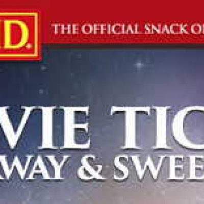 Win 1 of 5,000 Movie Tickets