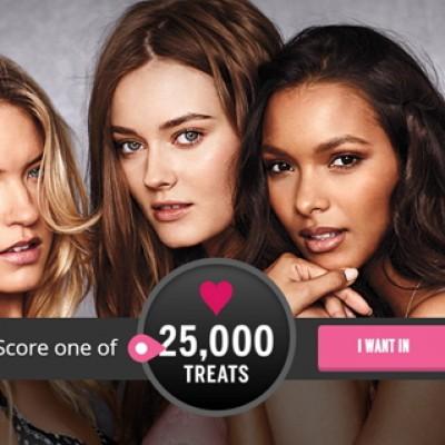 Victoria's Secret: Score 1 of 25,000 Treats