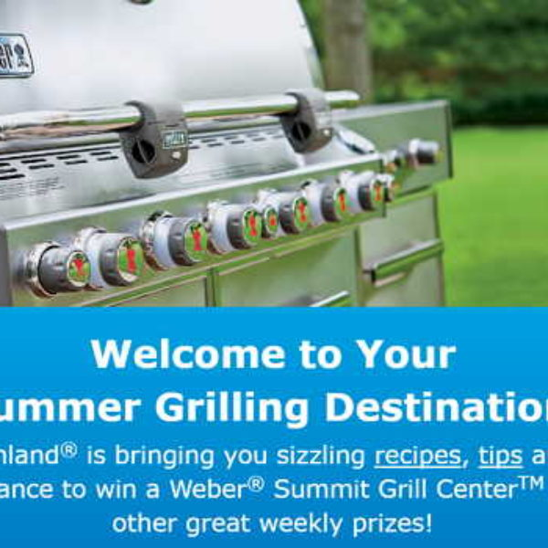 Win a Weber Summit Grill Center