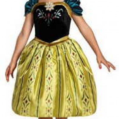 Frozen Anna Coronation Costume Only $11.58 (Reg $28.99) + Free Shipping