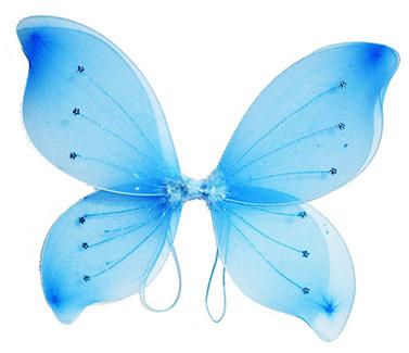 Fairy butterfly wings costume