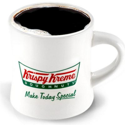 Krispy Kreme: Free Coffee & Doughnut