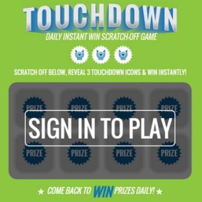 Kroger: Touchdown Instant Win Game