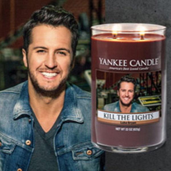 Win a Luke Bryan Yankee Candle