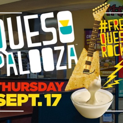 Moe's: Get Free Queso on 9/17