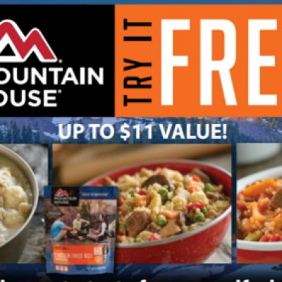 Free Mountain House Adventure Meal After Rebate