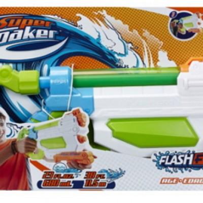 Nerf Super Soaker FlashFlood Blaster Just $3.88 (Reg $19.99) Add-On Item