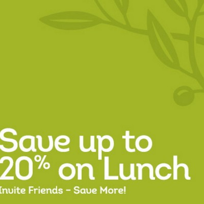 Olive Garden: Save Up To 20% Off Lunch