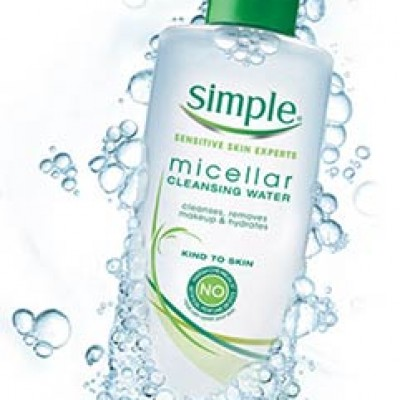 Simple Micellar Water Coupon