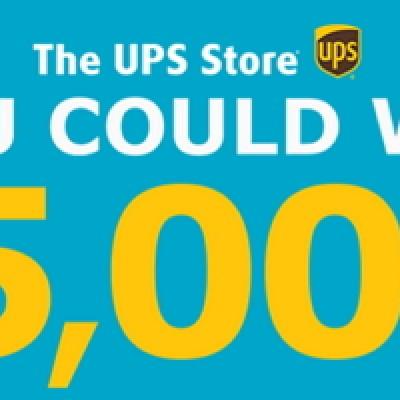 UPS Store: Win $5,000 Visa Gift Card