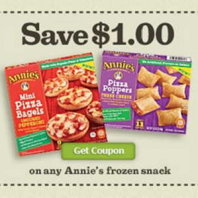 Annie's Frozen Snack Coupon
