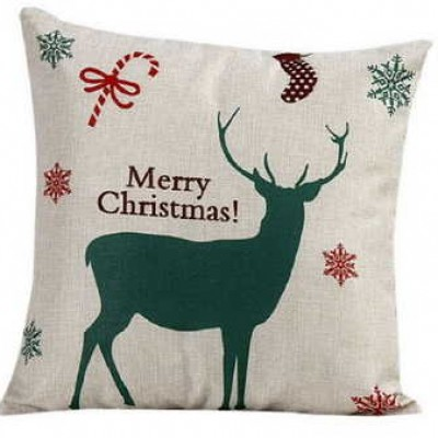 Christmas Sofa Pillow Case Only $4.99 (Reg $22.99) + Free Shipping