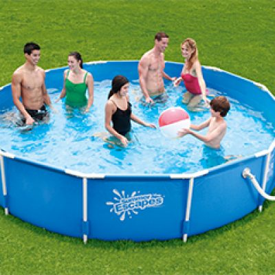 Summer Waves 12' Above Ground Pool Just $84.99 + Free Shipping