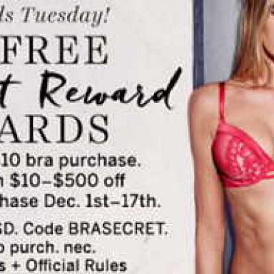 2 Free Secret Reward Cards W/ $10 Purchase