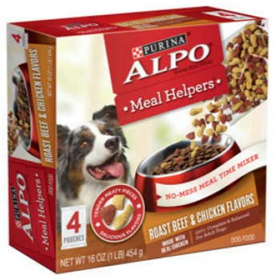 Free Alpo Meal Helpers Samples