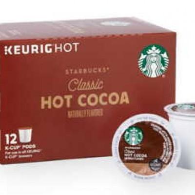 Free Starbucks Hot Cocoa K-Cup Pod Samples