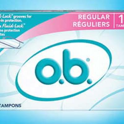 Free 18-Count O.B. Pro Comfort Tampon Samples