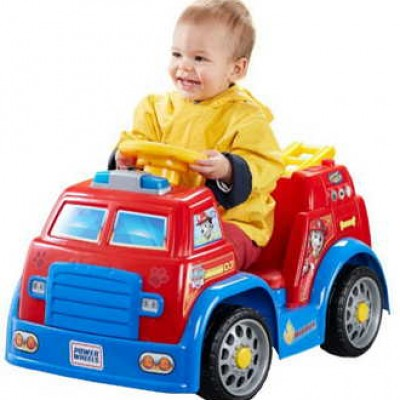Power Wheels PAW Patrol Fire Truck Just $79.00 (Reg $119.99) + Free Shipping For Prime Members