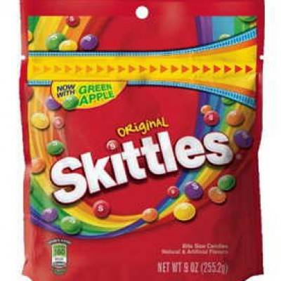 Skittles 9oz Bag Just $1.29 As Add-On For Prime