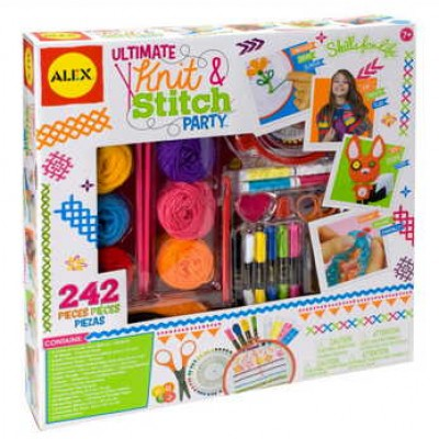 ALEX Toys Craft Ultimate Knit & Stitch Party Only $12.25 (Reg $37.99) + Prime