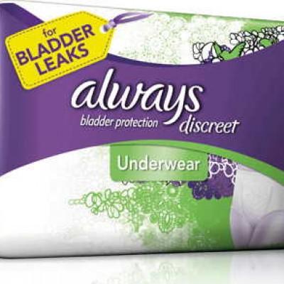 Free Always Underwear Samples