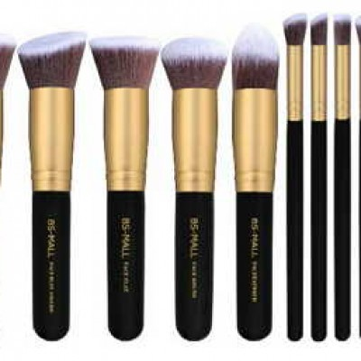 10-Piece Kabuki Makeup Brush Set Just $11.99 + Prime