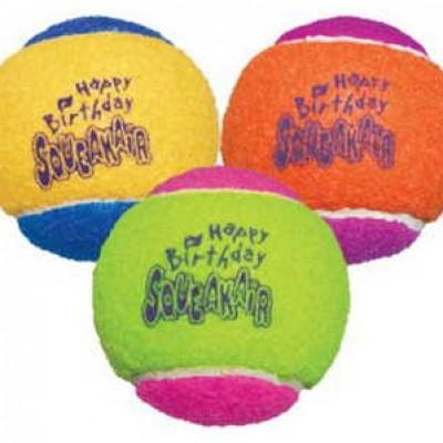 KONG Birthday Balls Dog Toy Just $2.39 (Reg $4.99) + Prime