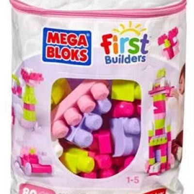 Mega Bloks Pink Big Building Bag Only $10.71 (Reg $19.99)