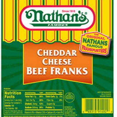 Nathan's Cheddar Beef Franks Coupon