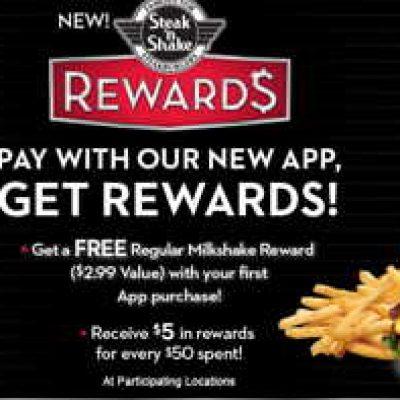 Steak 'n Shake: Free Regular Milkshake W/ Purchase