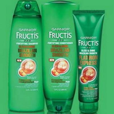 Free Garnier Fructis Brazilian Smooth Samples