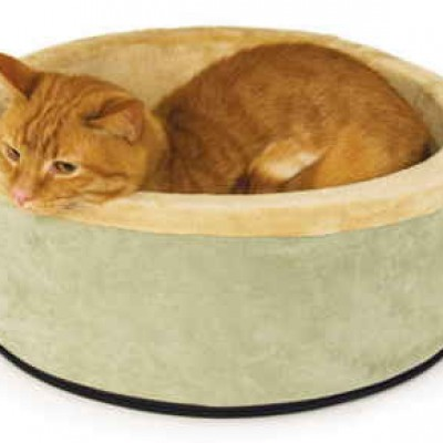 Thermo-Kitty Heated Cat Bed Only $22.41 (Reg $67.99) + Prime