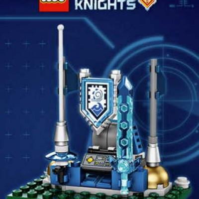Free LEGO Nexo Knights Shield Dock @ Toy's R Us