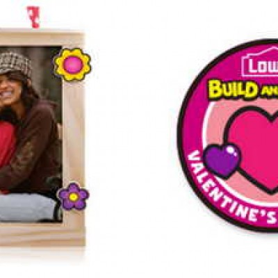 Lowe's Build N' Grow: Free Valentines Picture Frame