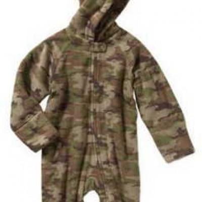 Healthtex Newborn Baby Boy Fleece Eared Pram Only $3.50 (Reg $11.97) + Free Store Pick-Up