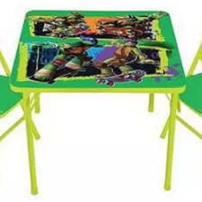 Nickelodeon Teenage Mutant Ninja Turtles Activity Table Set Only $24.99 (Reg $49.98) + Free Store Pickup